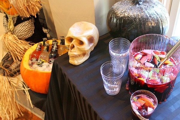 Adult Halloween Party - Beverage Station