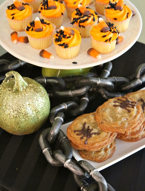adult halloween party menu