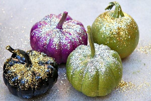 Adult Halloween Party - Glitter Pumpkins