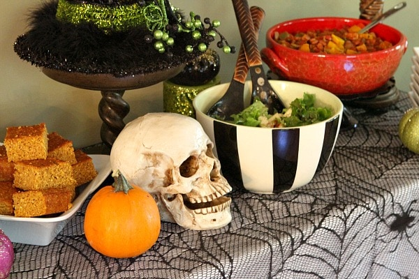 adult halloween party main dishes