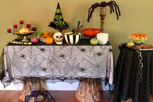 Adult Halloween Party Menu - RecipeGirl.com