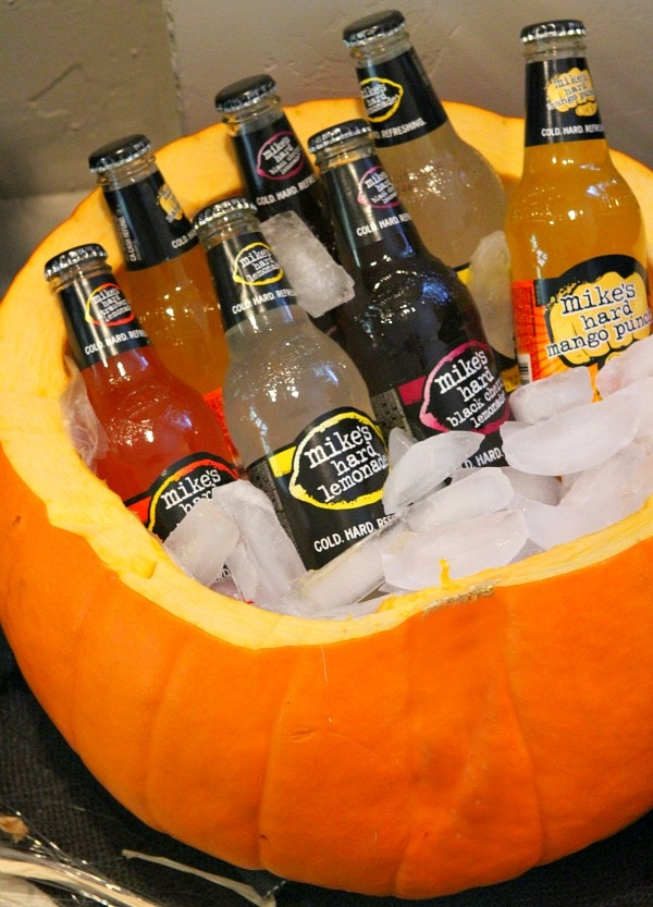 Adult Halloween Party - Pumpkin Cooler