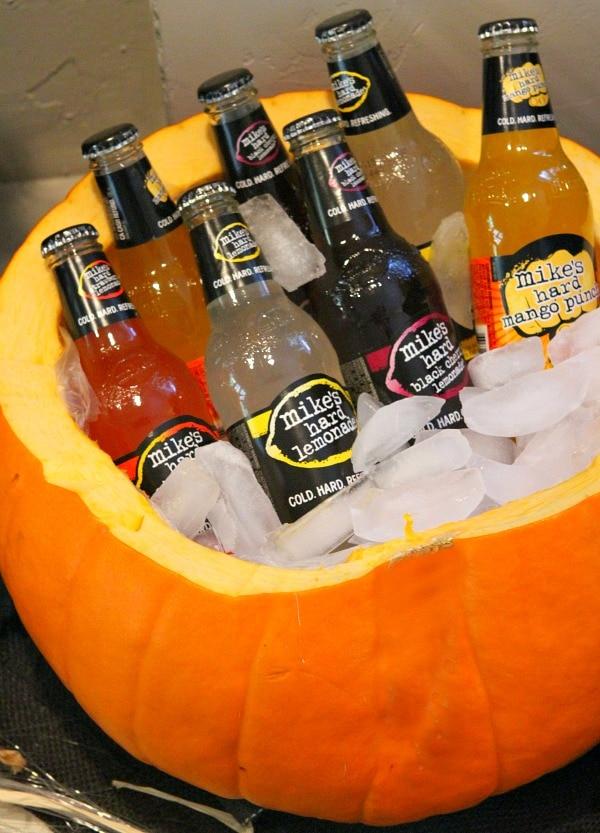 Adult Halloween Party - Pumpkin Cooler