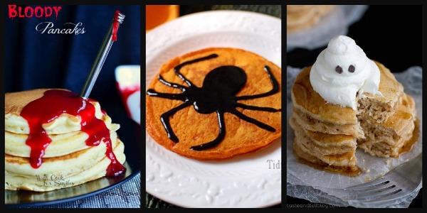 Halloween Morning Pancakes