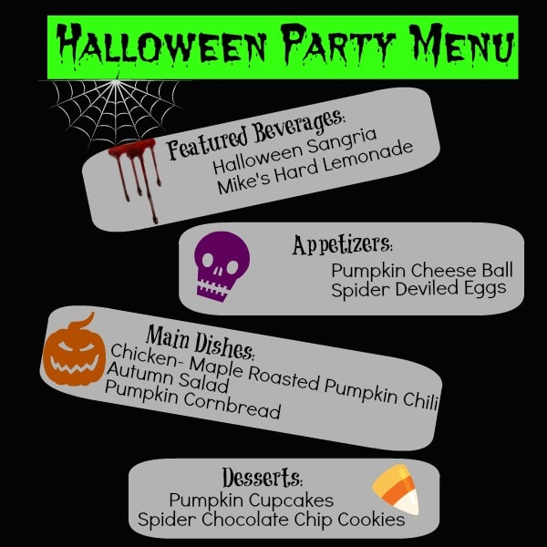 Halloween Dinner Party Ideas For Adults Part - 19: Recipe Girl