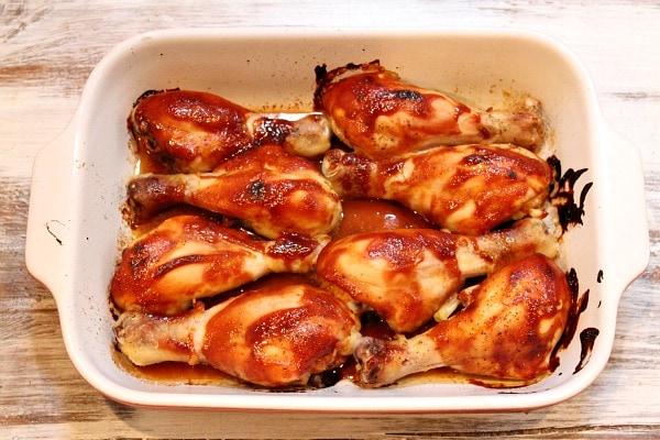 Hoisin Chicken Drumsticks - from RecipeGirl.com