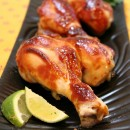 Hoisin Chicken Drumsticks - from RecipeGirl.com