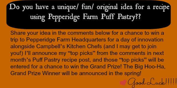 Pepperidge Farm Puff Pastry Contest