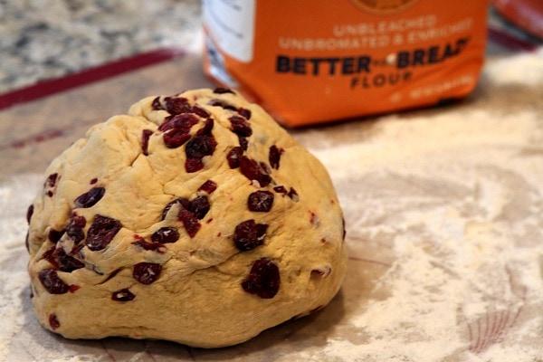 Pumpkin- Cranberry Breadsticks 3