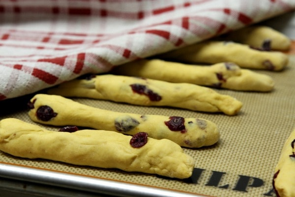 Pumpkin- Cranberry Breadsticks 4