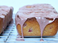 Raspberry- Cinnamon Loaf Cake - RecipeGirl