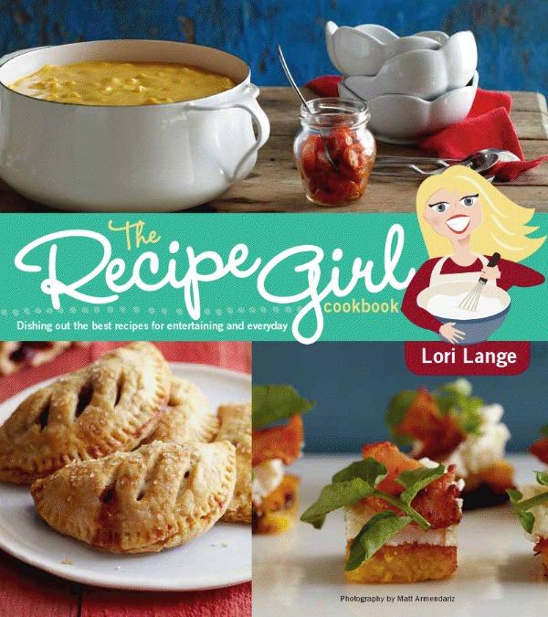 RecipeGirl Cookbook Cover 600