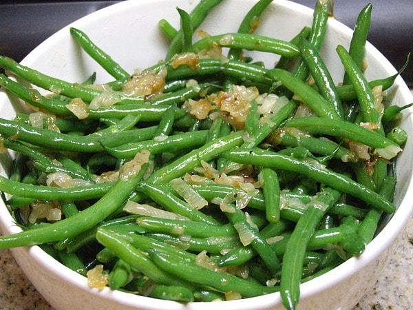 Thanksgiving dinner menu for Easy thanksgiving green bean recipes