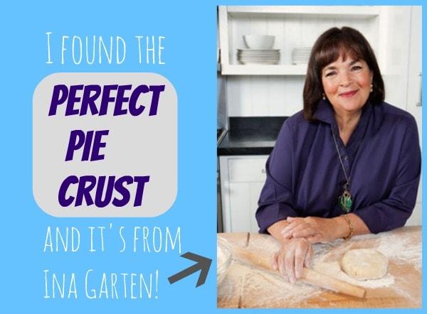 Ina Garten Pie Crust