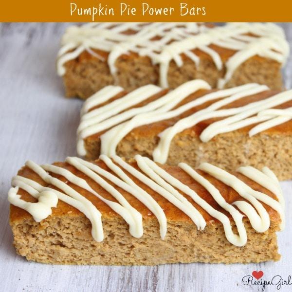 Pumpkin Pie Power Bars 600
