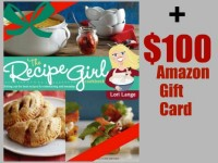 Recipe Girl Cookbook Holiday Giveaway
