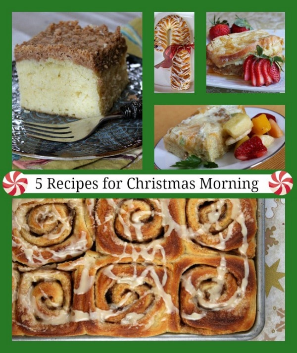 5 Recipes for Christmas Morning