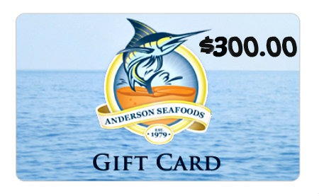 Anderson Seafoods Giveaway