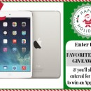 Apple iPod Air Giveaway