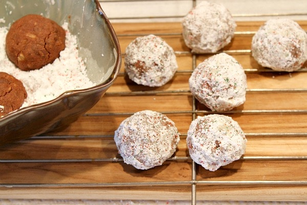 Chocolate Snowball Cookies 4