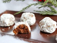 Chocolate Snowball Cookies - RecipeGirl