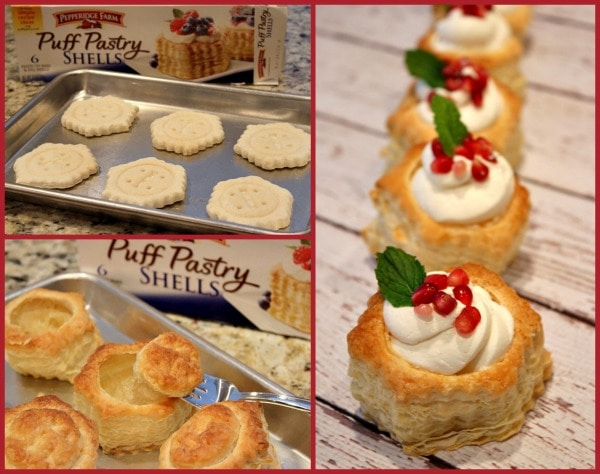 Holiday Cheesecake Puffs