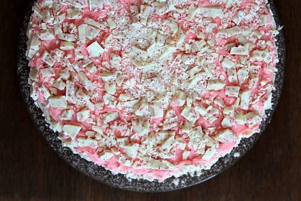 Peppermint Cheesecake Cake 6
