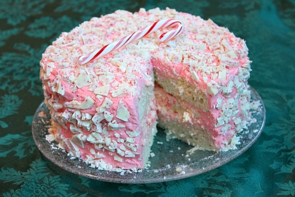 Peppermint Cheesecake Cake