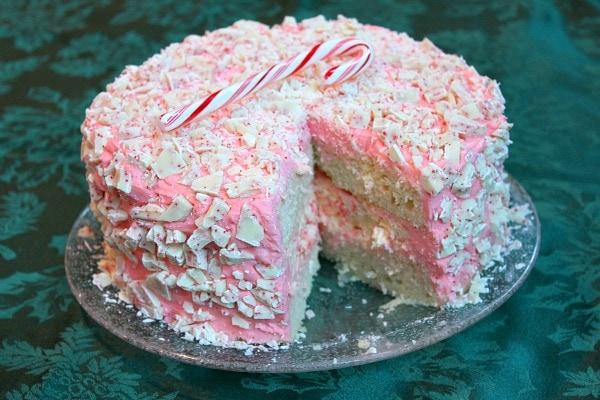 Peppermint Cheesecake Cake