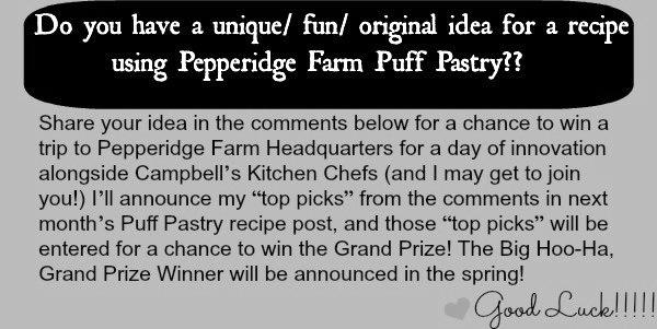 Puff Pastry Contest Dec