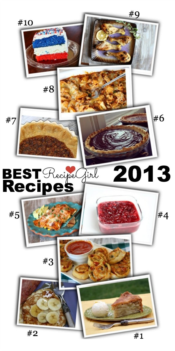 Best Recipes from RecipeGirl.com 2013