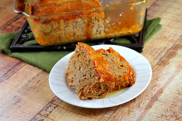 Chicken Parmigiana Meatloaf