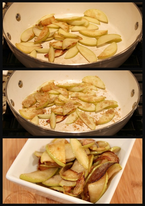 Chicken with Apples and Cider recipe by RecipeGirl.com