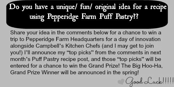 Puff Pastry Contest Jan