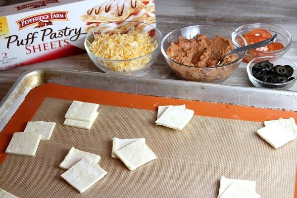 Puff Pastry Nachos 1