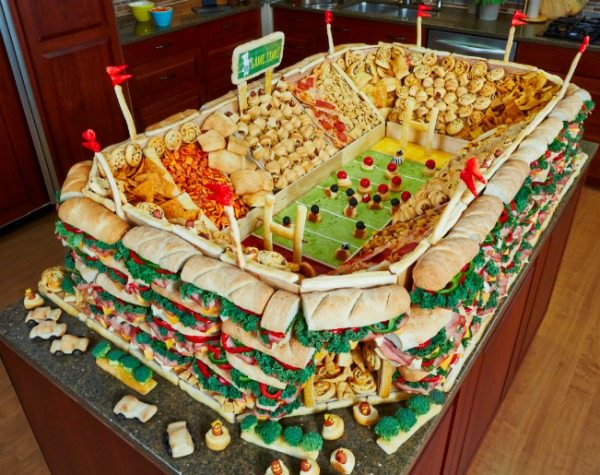 Super Bowl Party Display
