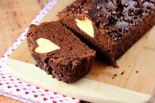 Chocolate Valentine S Surprise Loaf Cake