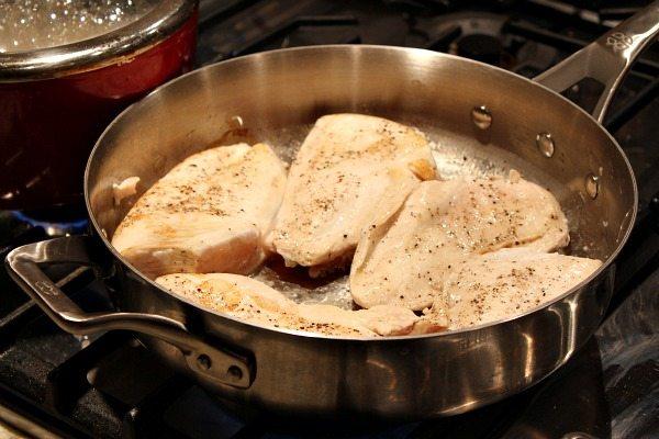 Honey Mustard Pale Ale Chicken recipe from RecipeGirl.com