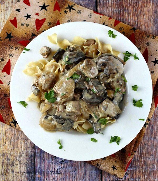 Lamb Stroganoff Recipe