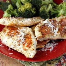 Parmesan Crusted Chicken Breasts