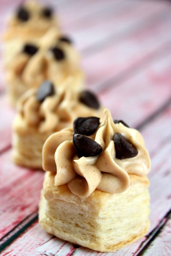 Peanut Butter Mousse Cups #recipe -- from RecipeGirl.com