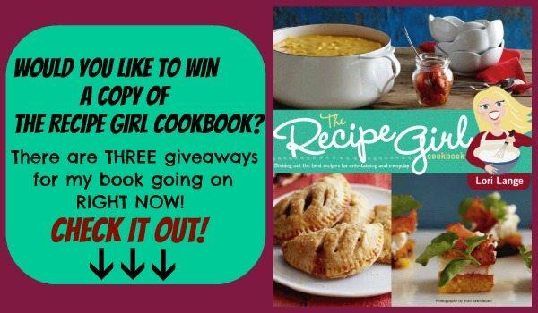 Recipe Girl Cookbook Giveaways