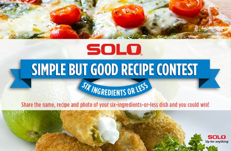 SOLO Recipe Contest