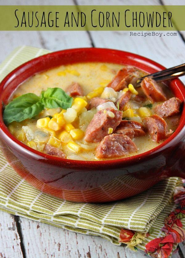 Sausage and Corn Chowder