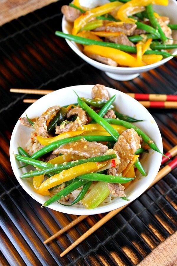 Szechuan Orange-Ginger Beef Recipe