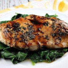 Balsamic- Glazed Chicken