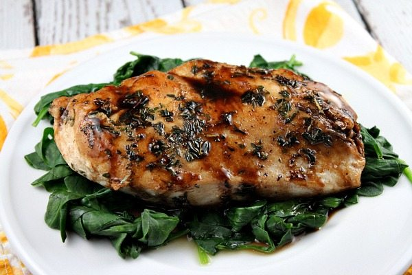 Balsamic- Glazed Chicken