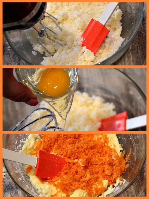 Carrot Cake Cookies Prep 2