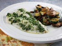 Herb Topped Fish