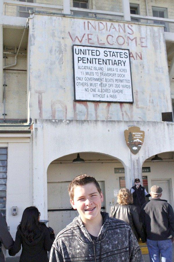 San Francisco Kimpton Argonaut Trip to Alcatraz arrival